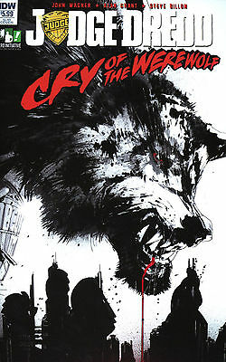 Judge Dredd: Cry of the Werewolf (Jock Variant / One Shot / 2017 / NM)