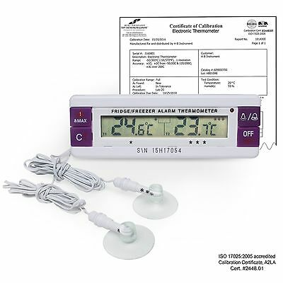 H-B DURAC B60900-0800 Calibrated Dual Zone Electronic Thermometer