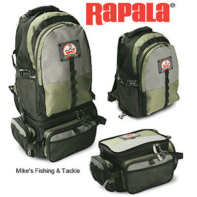 Rapala 3 in 1 Combo Backpack Back Pack Fishing Tackle Bag