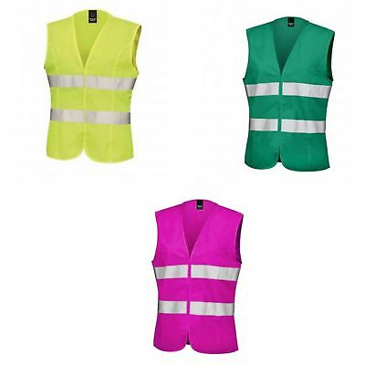 Result Core Womens/Ladies Sleeveless Hi Vis Vest