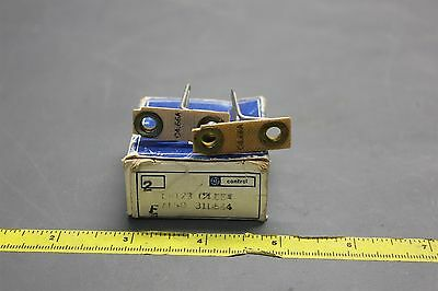 2 New Ge Overlaod Relay Heaters Thermal Unit Cr123 C4.66A (S24-1-55)