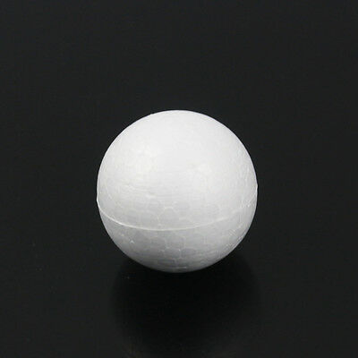 10/20/50 Pcs Modelling Crafts Polystyrene Foam  White Ball Spheres Styrofoam DIY