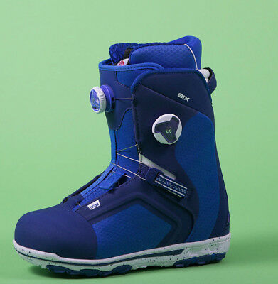 Snowboard Boots Boots HEAD SIX BOA FOCUS BLUE 2017