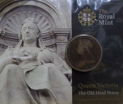 Royal Mint Queen Victoria ''The Old Head Penny''