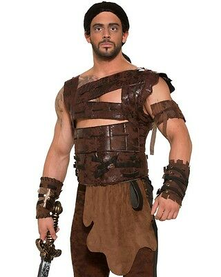 Warrior Faux Leather Armour And Belt Size STD