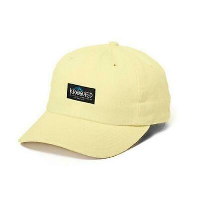 Lakai x Krooked Skateboards Dad Hat Banana Yellow