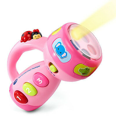 VTech Spin and Learn Color Flashlight Toy Toddler Learning Infant Baby Kids Play