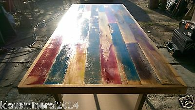 Industrial Dining Table Rustic Kitchen farmhouse Vintage Reclaimed solid antique