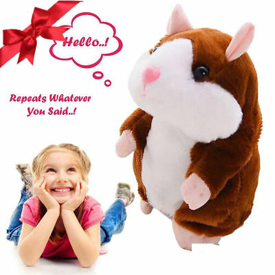 Adorable Toy Mimicry Pet Speak Talking Record Hamster Mouse Plush Kids Toy XBUS