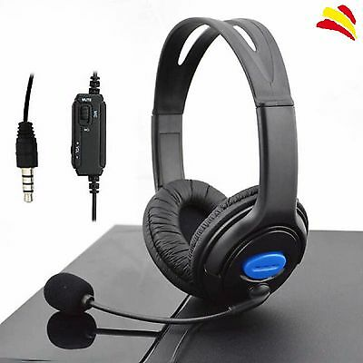 Auriculares Cascos Sony Ps4 Wired Headset Con Micrófono Gaming Playstation4