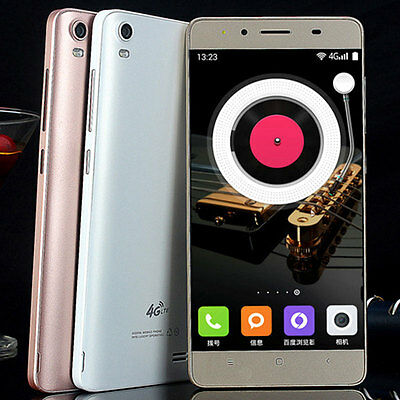 "M5 5"" 4G Unlocked Dual SIM Android Smartphone Quad Core 1+8GB Cell Phone Gifts!"