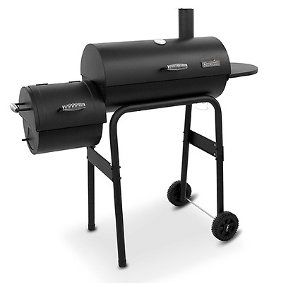 BBQ Charcoal Grill Smoker Cover Patio Home Outdoor Cooking Gourmet Smoked Flavor