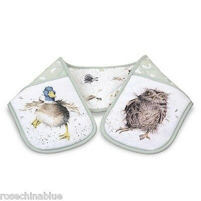 Wrendale Country Set Double Oven Gloves