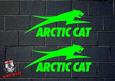 Sticker Sticker Autocollant Adesivi Aufkleber Decal 2X Artic Cat