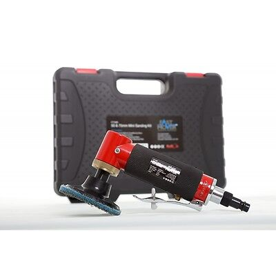 FMT Fast Mover Air Sander With Roll On System 75 & 50mm In Case