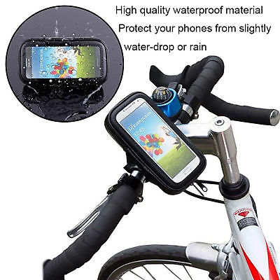 Universal 360 Degree Bicycle Bike Phone Holder Waterproof Case Mount For Mobiles