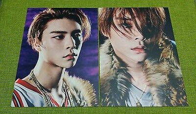 NCT 127 JOHNNY LIMITLESS POSTCARD 2pcs 5x7 inch SM TOWN COEX Artium Official