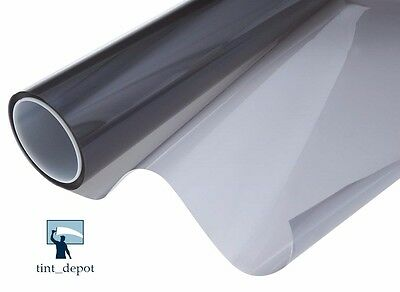 "WINDOW TINT FILM ROLL 1-PLY CARBON 30% 40"" x 100 FT SCRATCH RESISTANT COATING"