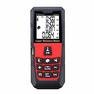 Laser Distance Meters DMiotech Laser Distance Measure 131ft 40m Mini Handheld