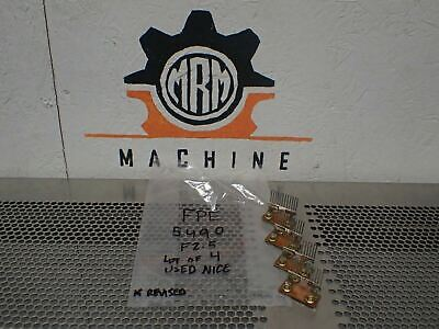 FPE Class 5490 Style F2.5 (4) Overload Heater Elements New Old Stock