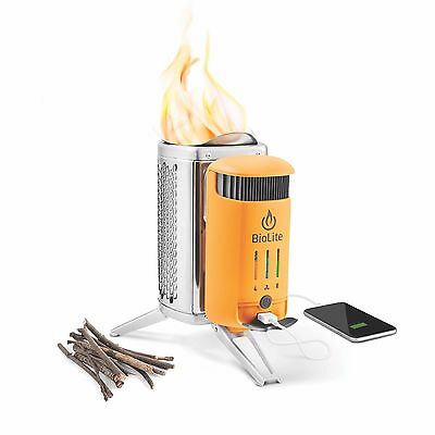 BioLite CampStove 2 Outdoorkocher Thermoenergiewandler Biomasse USB Flexilight