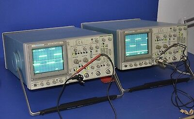 2 (Two) TekTronix 2245A 100MHz 4-Channel Oscilloscopes