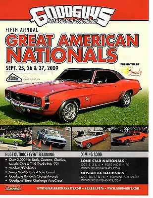 1969 Chevrolet Camaro Ss/rs 396  ~  Great Muscle Car Ad