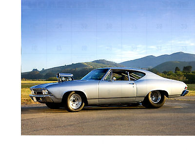 1969 Chevrolet Chevelle Ss   ~   Great Calendar Photo / Picture / Ad