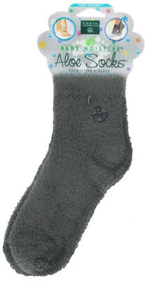 Moisturizing Aloe Socks Grey