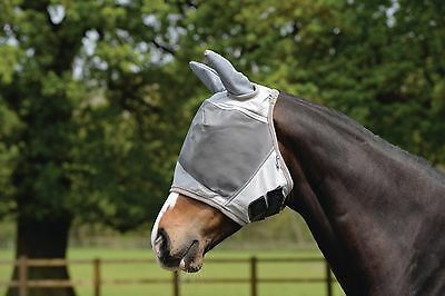 Masta UV Fly Mask, Face Cover, and Ears Protection for Horses