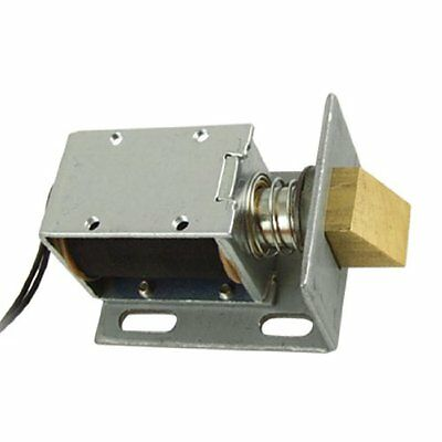 Home Security Systems uxcell DC 12V Open Frame Solenoid for Electric Door Lock