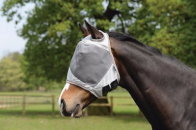 Masta UV Fly Mask, Face Cover, No ears, Fly Protection for Horses