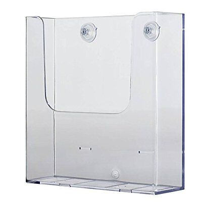 Copyholders Source One Glass Mount Full Size 8-1/2 Inches Wide Brochure Holder