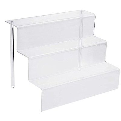 Display Stands Combination of Life 12-Inch W by 8.5-Inch D 3 Step Acrylic Riser