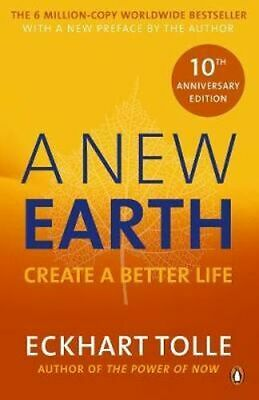 NEW A New Earth By Eckhart Tolle Paperback Free Shipping