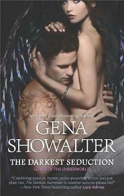 NEW The Darkest Seduction By Gena Showalter Paperback Free Shipping
