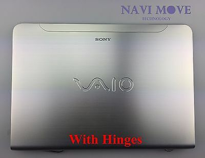 NEW Sony VAIO SVE14 LCD Back Cover Front Digitizer Touch Screen Glass Bezel USA