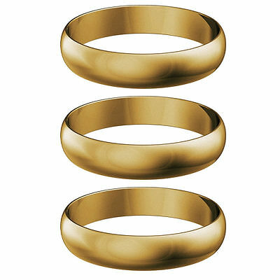 Gold Harrows Supergrip Shaft Rings  Pack Of 3