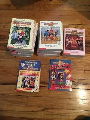 LOT OF 29 BOOKS - Baby Sitters Club, SUPER SPECIAL, Little Sisters
