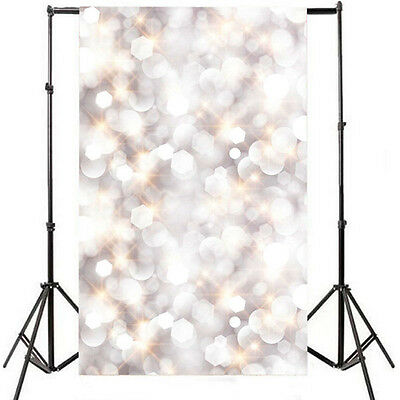 3x5ft Vinyl Glitter Spot Photography Backdrops Christmas Background Studio Props