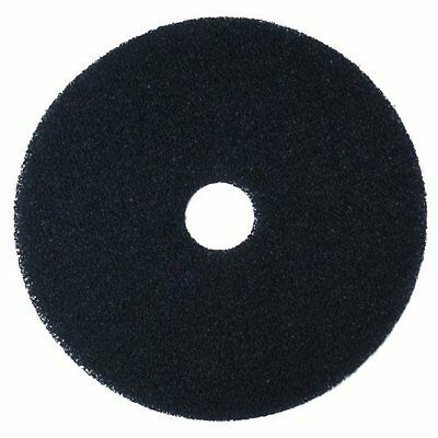 "Correction Tape 3M Black Stripper Pad 7200, 20"" Floor Care Pad (Case of 5)"
