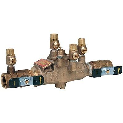 """Outlet Switches Watts 34"""" 009M3 Backflow Preventer Reduced Pressure Zone RPZ 34"""