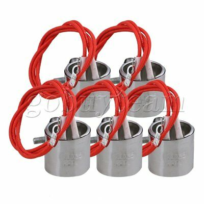 5PCS 30 x 35mm 2 Wire Cylindrical Heating Element Mica Band Heater AC 220V 120W