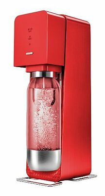 GUT: SodaStream Source Metall drinksmaker weiß _ PARENT Rot