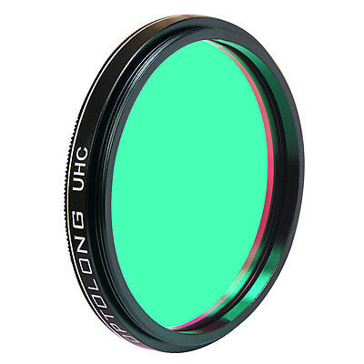"New M48.5x0.75 OPTOLONG 2"" UHC Nebula Filter for Cuts Light Pollution Thread Hot"