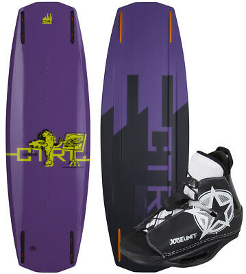 CTRL THE SUPREME 134 2014 incl. Jobe UNITé Bottes Wakeboard Set incl. Fixation