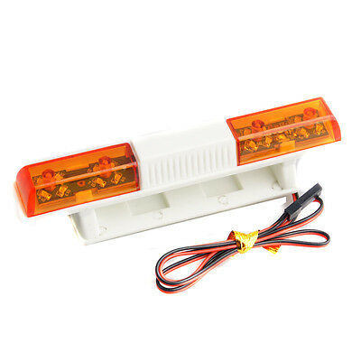 Model Car Police LED Rotation Flash Yellow For RC Redcat Racing Roof Light