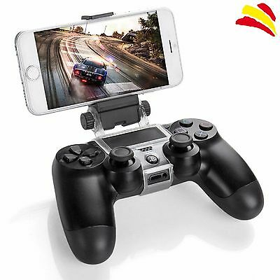 Soporte Abrazadera Clip Para Movil A Mando Ps4 Playstation 4 Sony