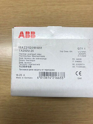 Abb Thermal Overload Relay 18-25A
