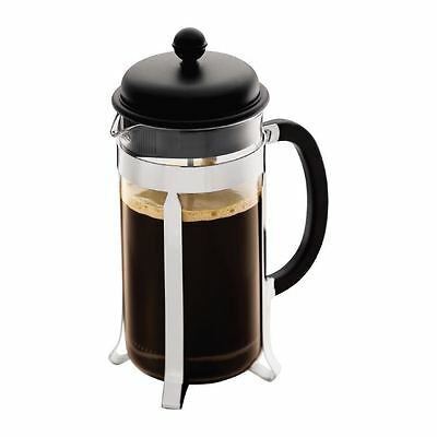 Bodum Caffettiera Coffee Maker 8 Cup  1L 34 Oz Black